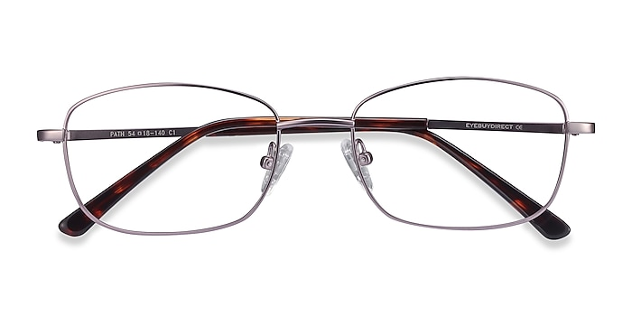 Purple Path -  Lightweight Metal Eyeglasses