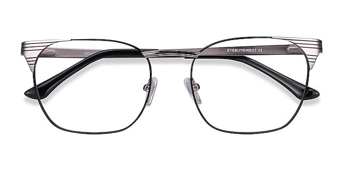 Black Silver Soulist -  Metal Eyeglasses