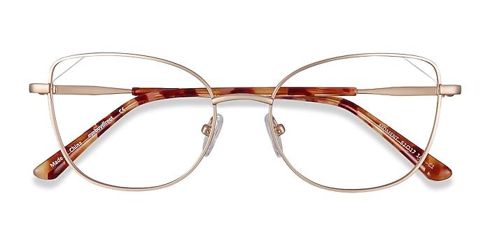 Gold Moment -  Fashion Metal Eyeglasses