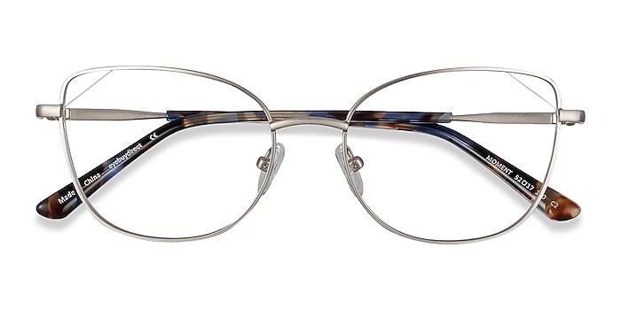 Silver Moment -  Lightweight Metal Eyeglasses