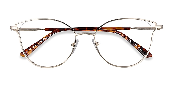 Gold Trance -  Fashion Metal Eyeglasses