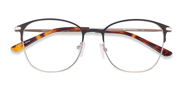 Black Disperse -  Metal Eyeglasses