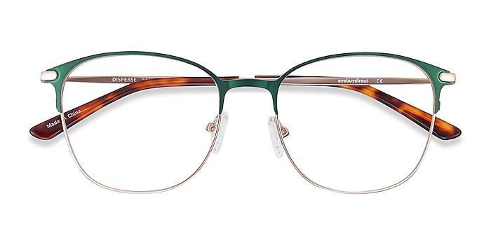 Green Disperse -  Metal Eyeglasses