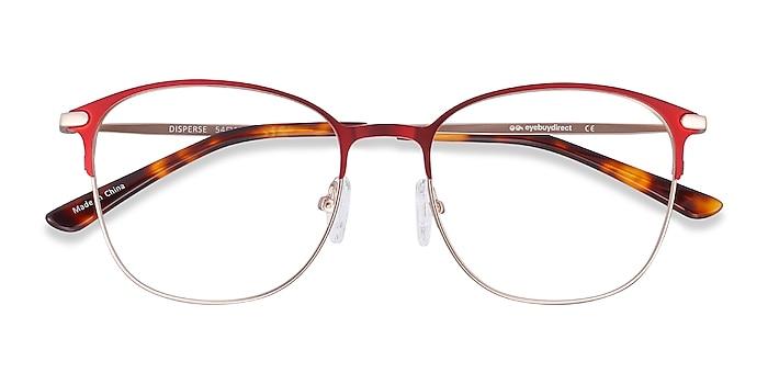Red Disperse -  Metal Eyeglasses