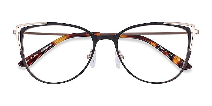 Black Gold Garance -  Lightweight Metal Eyeglasses