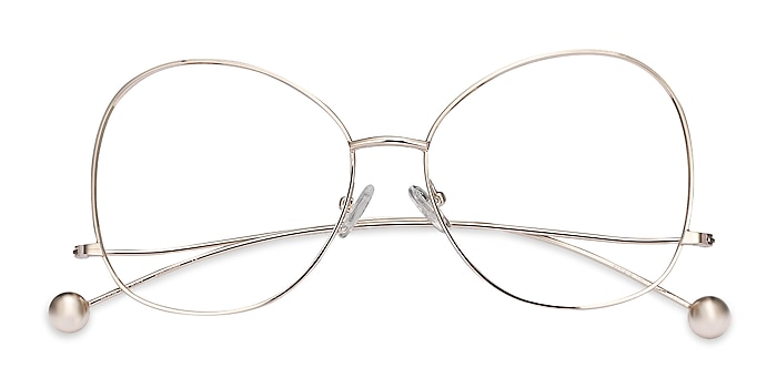 Gold Renata -  Vintage Metal Eyeglasses