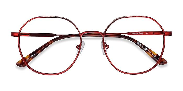 Red Sylvie -  Metal Eyeglasses