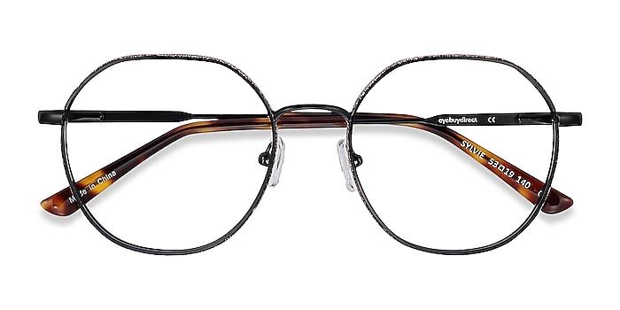 Black Sylvie -  Metal Eyeglasses