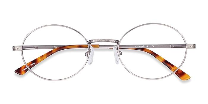Gunmetal Equinox -  Lightweight Metal Eyeglasses