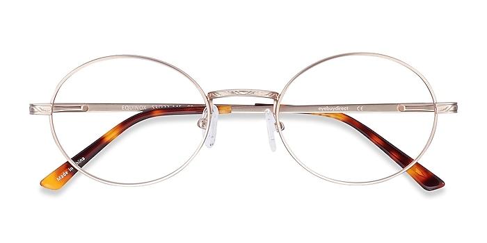 Gold Equinox -  Vintage Metal Eyeglasses