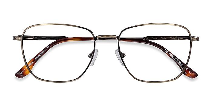 Bronze Throne -  Metal Eyeglasses