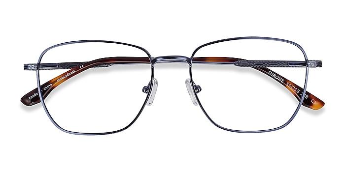 Blue Throne -  Metal Eyeglasses
