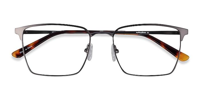 Gunmetal Metro -  Metal Eyeglasses