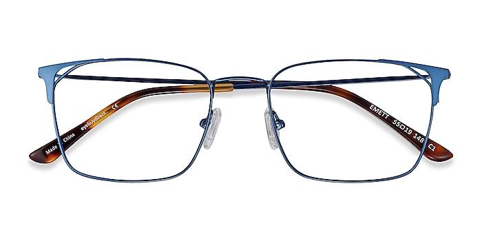 Blue Emett -  Lightweight Metal Eyeglasses