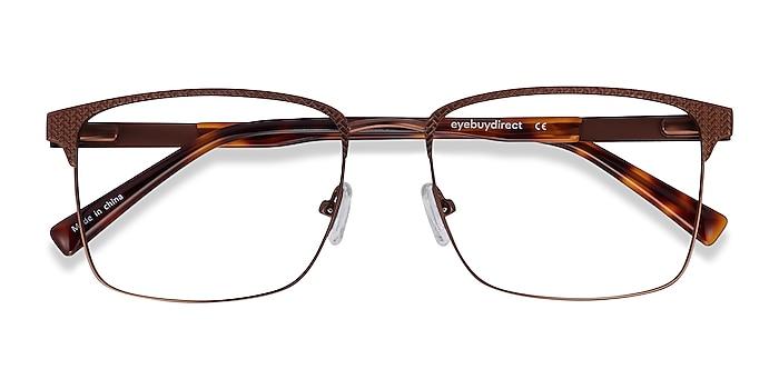 Bronze Capra -  Acetate, Metal Eyeglasses