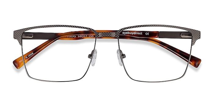 Gunmetal Douglas -  Metal Eyeglasses