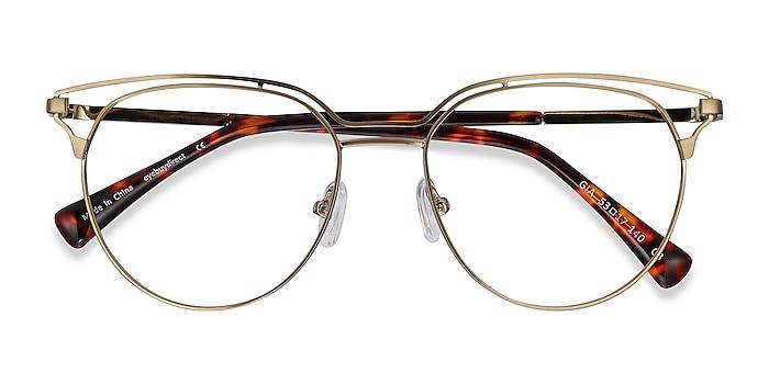 Bronze Gia -  Fashion Metal Eyeglasses