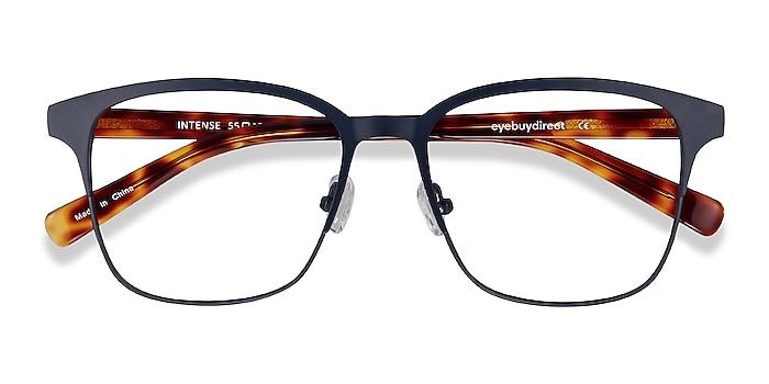Navy Blue & Tortoise Intense -  Geek Acetate, Metal Lunettes de vue