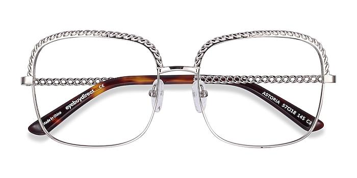 Silver Astoria -  Fashion Metal Eyeglasses