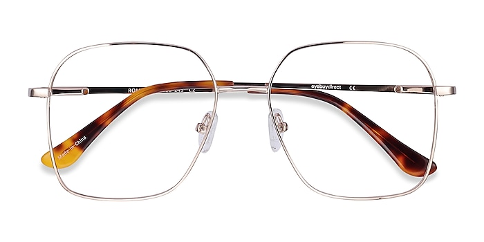 Gold Roman -  Vintage Metal Eyeglasses