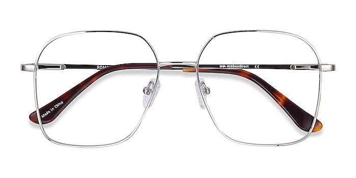 Silver Roman -  Vintage Metal Eyeglasses