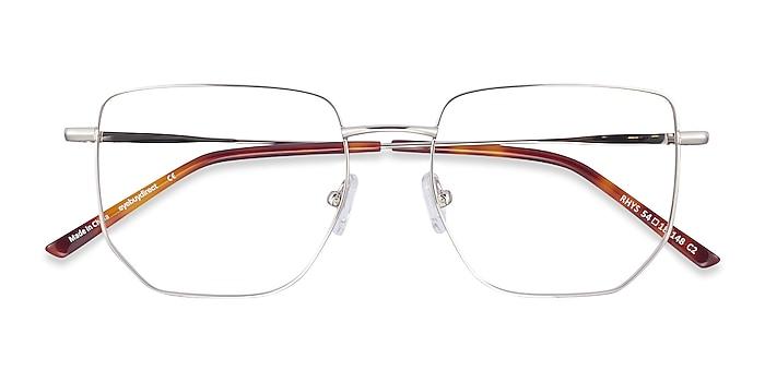 Silver Rhys -  Fashion Metal Eyeglasses