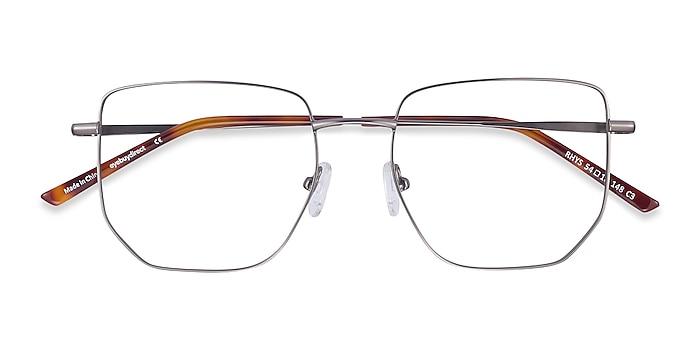 Gunmetal Rhys -  Fashion Metal Eyeglasses