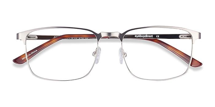 Gunmetal Oswald -  Classic Metal Eyeglasses