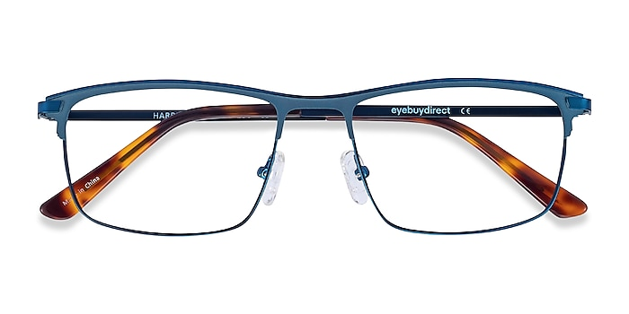 Bleu marine  Harrison -  Légères Métal Lunettes de vue