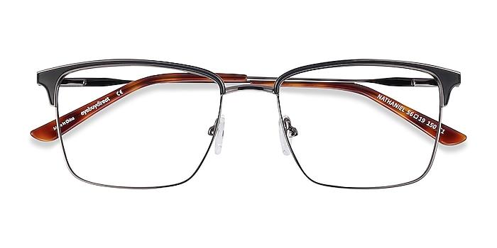 Black Nathaniel -  Metal Eyeglasses