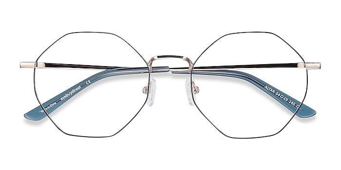 Navy & Gold Altar -  Lightweight Metal Eyeglasses