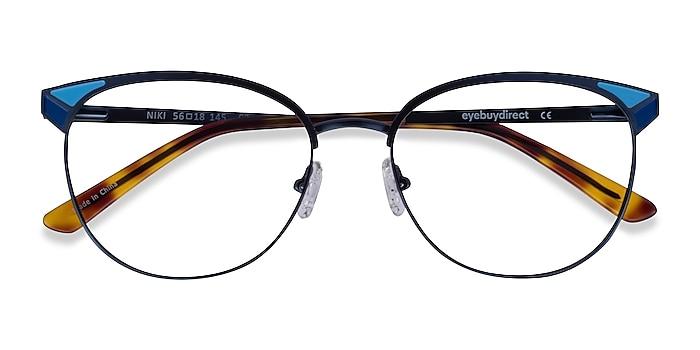 Blue Niki -  Metal Eyeglasses