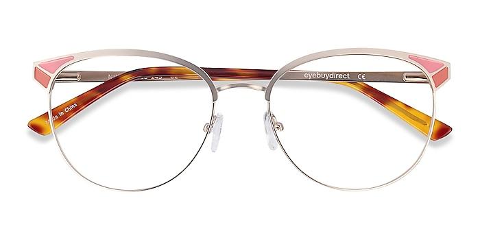Gold Niki -  Fashion Metal Eyeglasses