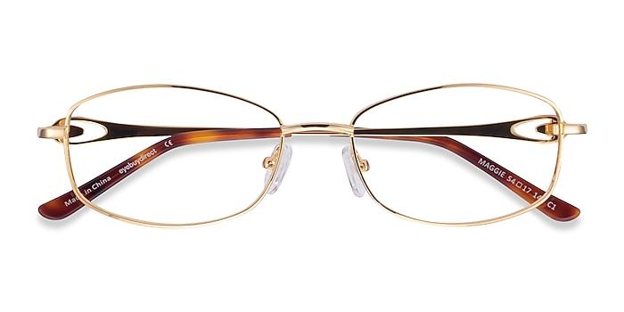 Gold Maggie -  Metal Eyeglasses