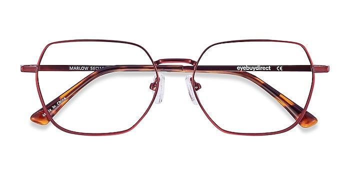 Red Marlow -  Colorful Metal Eyeglasses