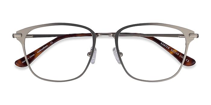 Silver Karter -  Metal Eyeglasses