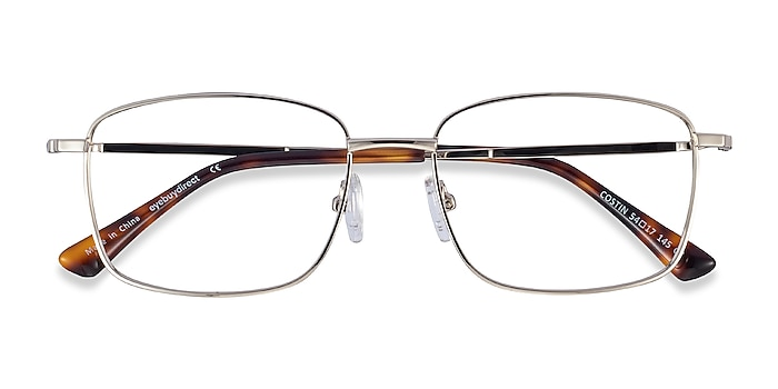 Silver Costin -  Lightweight Metal Eyeglasses