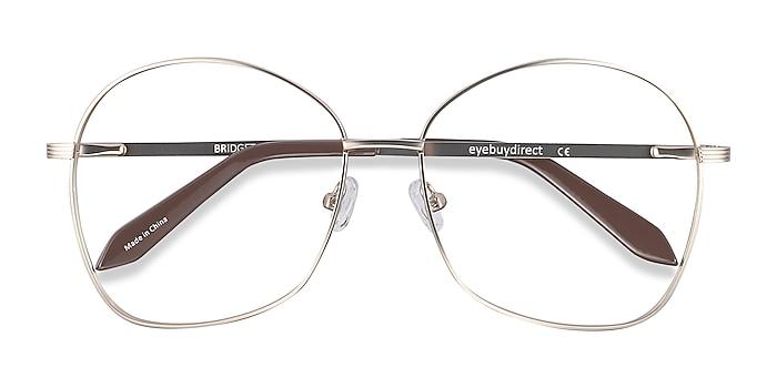 Gold Bridget -  Fashion Metal Eyeglasses