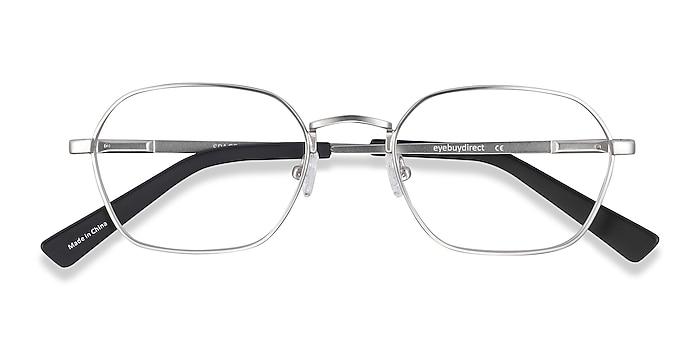 Matte Gunmetal Space -  Vintage Metal Eyeglasses