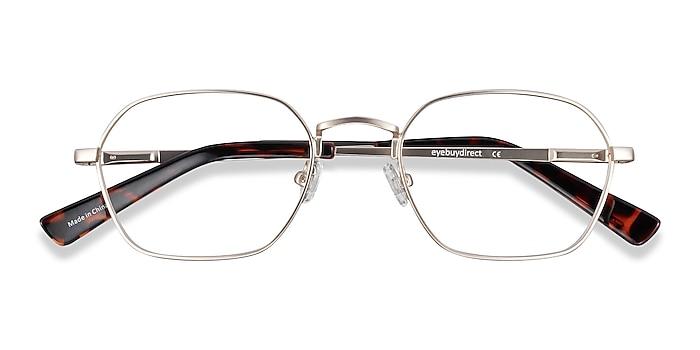 Gold Space -  Vintage Metal Eyeglasses