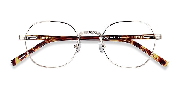 Gold Fantasy -  Vintage Acetate, Metal Eyeglasses