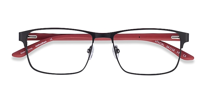 Black Red Special -  Carbon Fiber Lunettes de vue