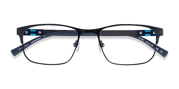 Petrol Blue Clint -  Carbon Fiber Eyeglasses
