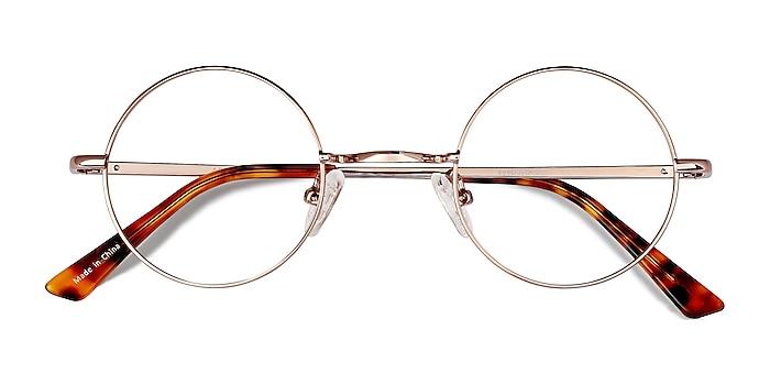 Rose Gold Abazam -  Vintage Metal Eyeglasses