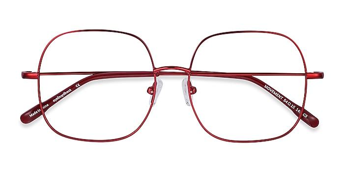Red Movement -  Lightweight Metal Eyeglasses