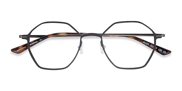 Black Alloy -  Aluminium Alloy Eyeglasses