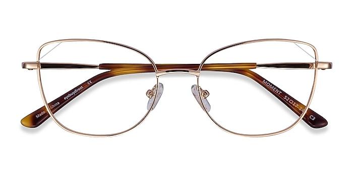 Rose Gold Moment -  Vintage Metal Eyeglasses