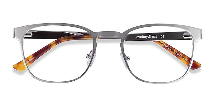 Silver Bellamy -  Metal Eyeglasses
