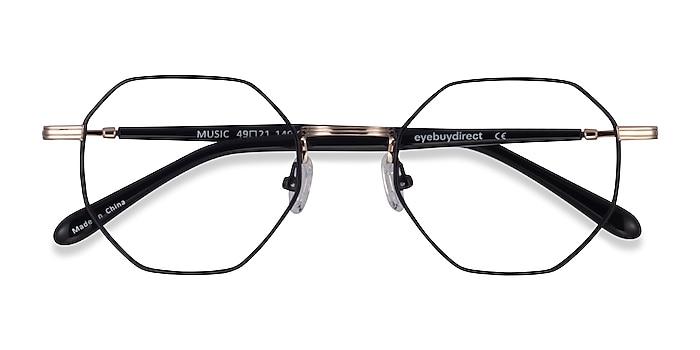 Black Gold Music -  Metal Eyeglasses