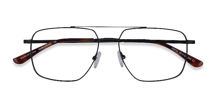 Noir Focal -  Métal Lunettes de vue